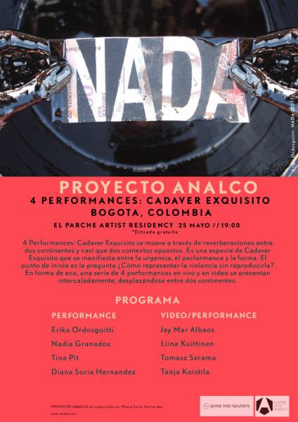 Poster 4performances_Bogota